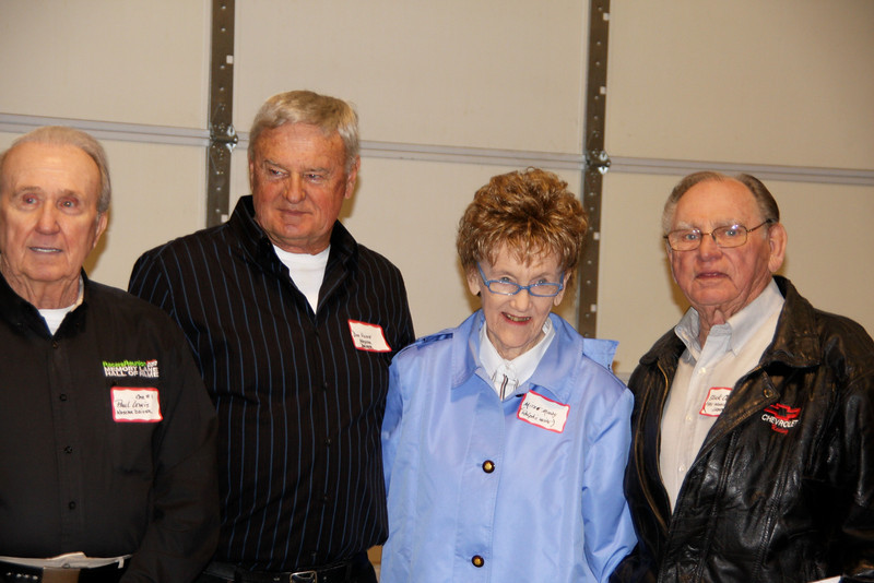 Paul Lewis, Don Hume, Mitzie Moody (Ralph's wife) and Slick