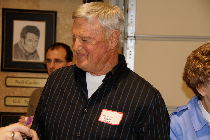Don Hume ran NASCAR 15 times between 1964 and 1985