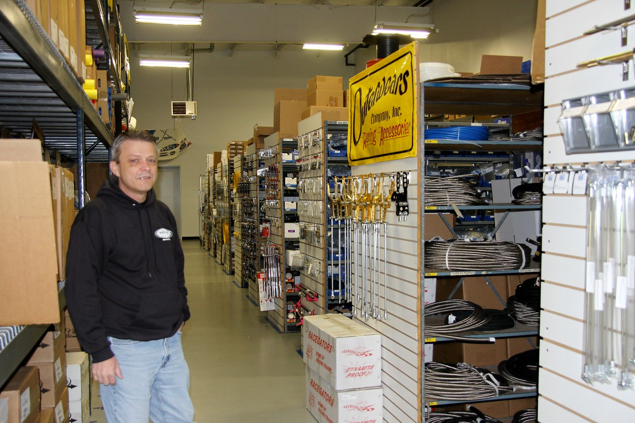 Tom is the owner of Carolina Racing Supply, a wholesale warehouse for local ace stores