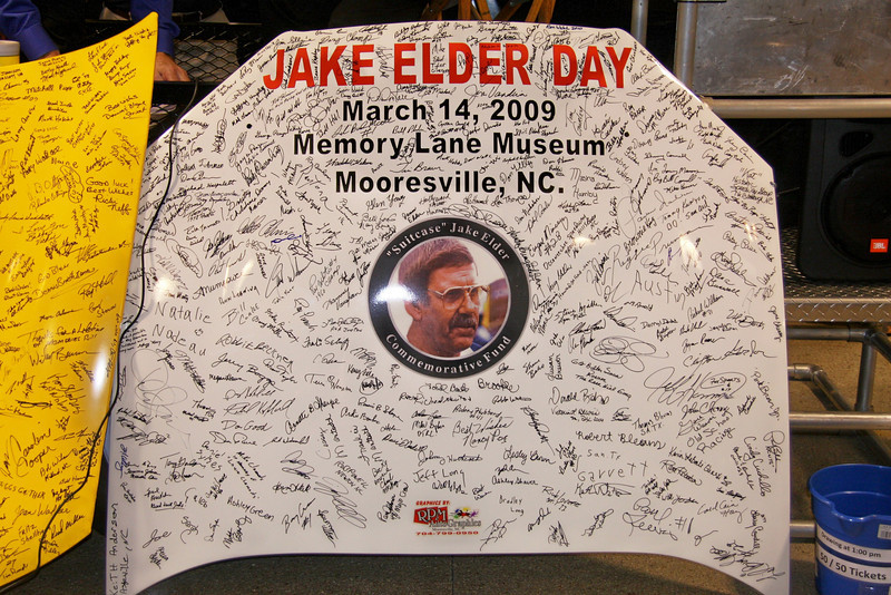 a momento from the Hall of Fame meeting in 2009