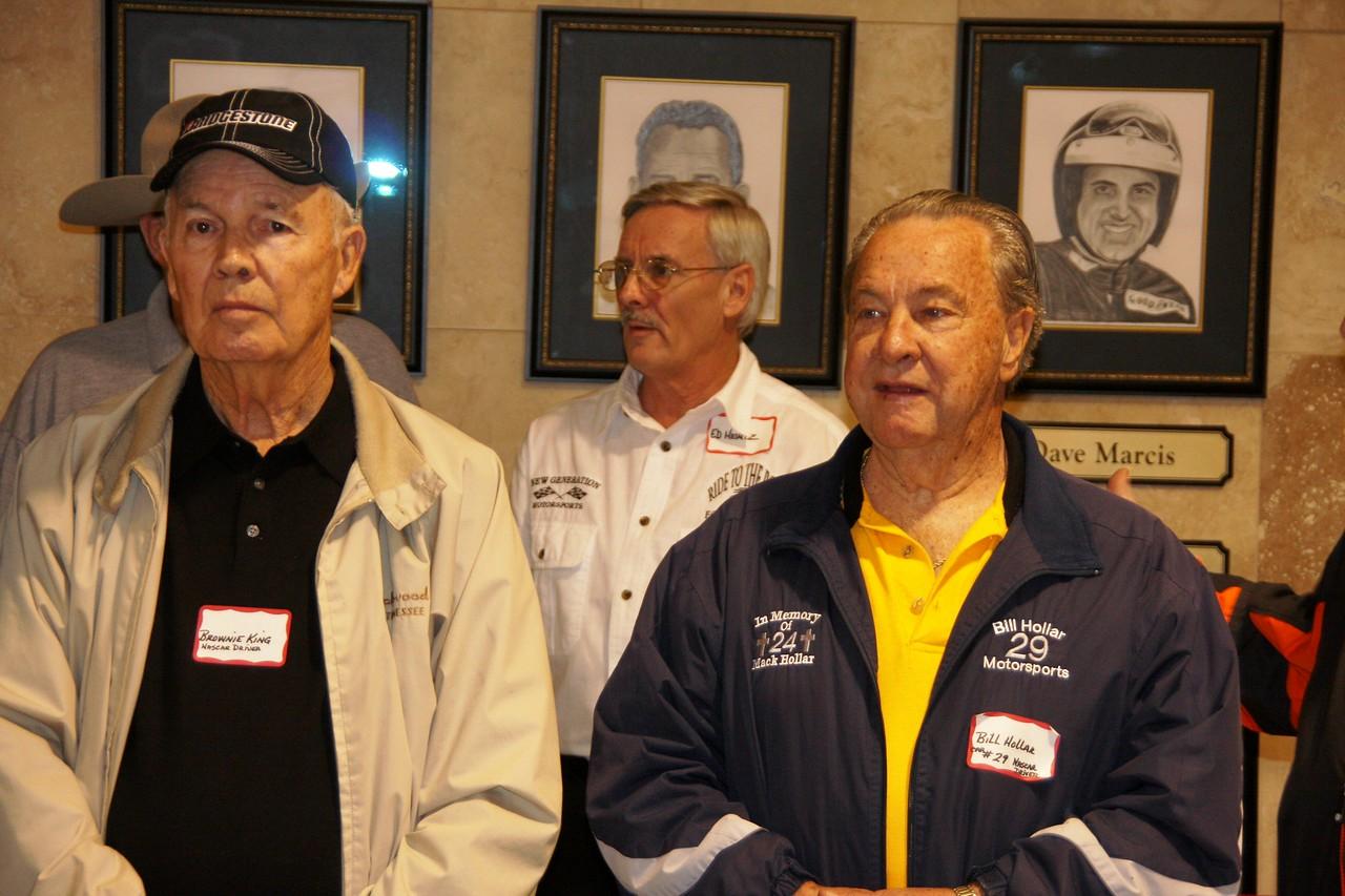 Brownie King ran 97 NASCAR races between '56-'60...Ed Heintz...Bill Hollar raced with NASCAR 29 times between 1970-1980
