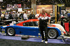 LuvRacin bossman Roger Bathe with the Rolex racing Porsche.