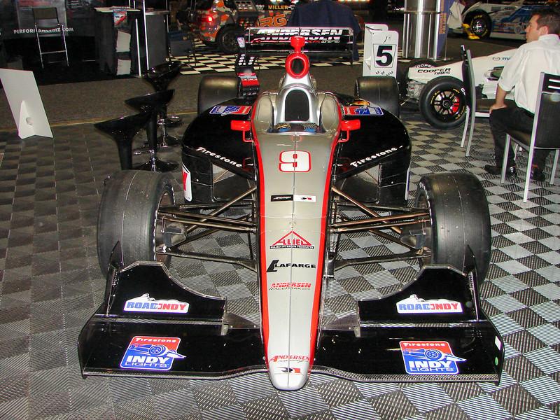 Indy lights racer