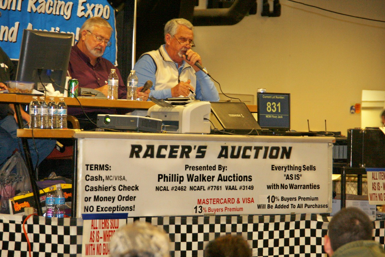 I luv the song of the auctioneer