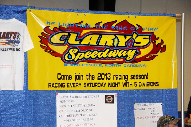 Clary's Speedway is up and running