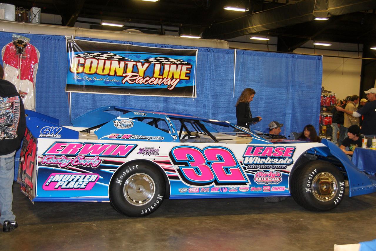 County Line Raceway was here