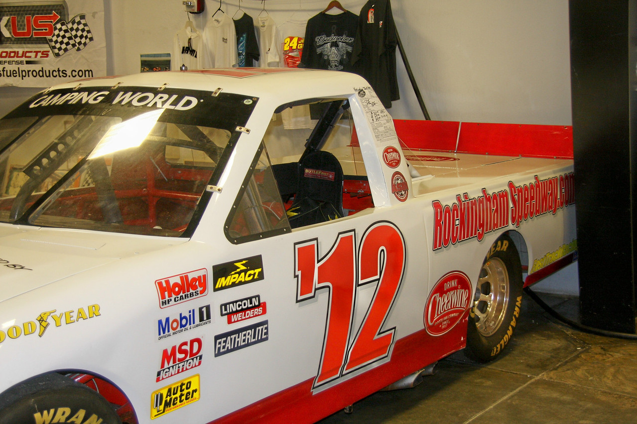Remember the NASCAR truck race at Rockingham, NC.... on April 12th - 13th - 14th