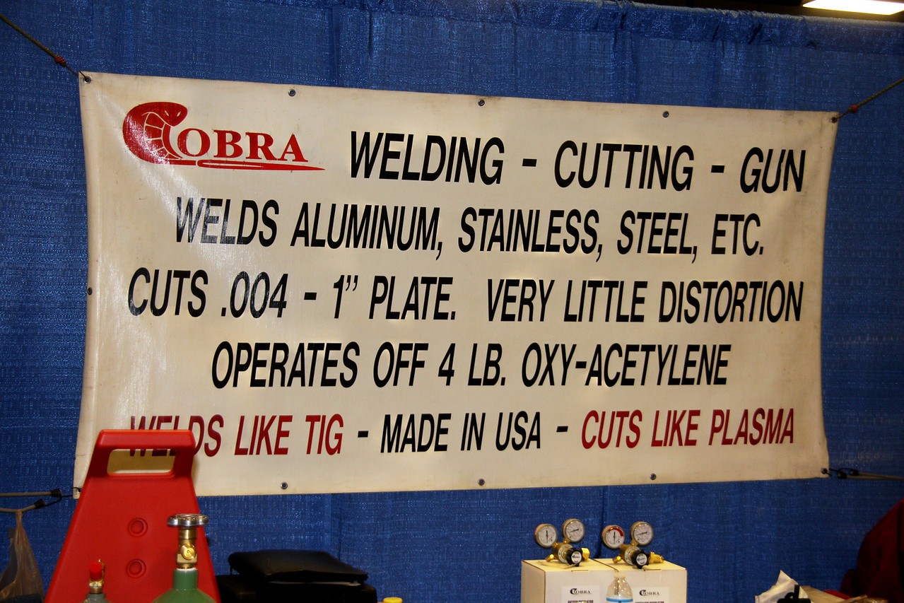 COBRA welding is a thrill to watch