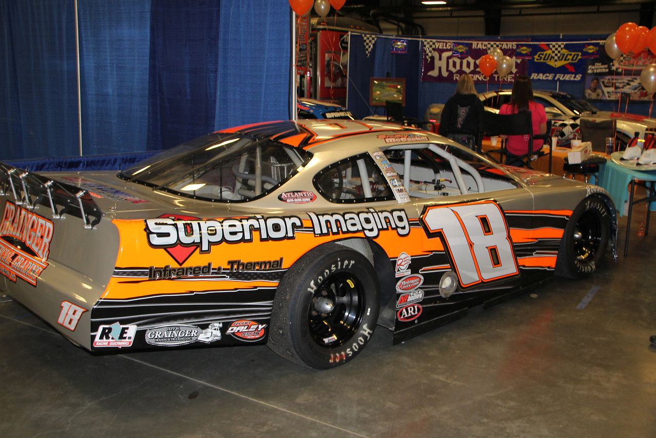 Bradley McCaskill's #18 with Superior Imaging as a sponsor.