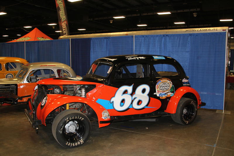 Talbert's Inc., is one of the Historic Speedway Group cars.