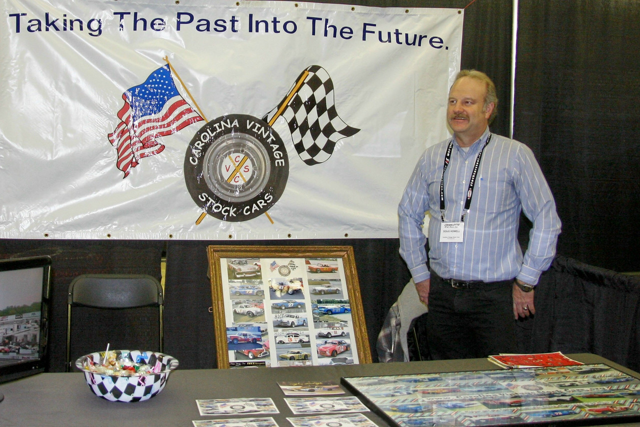 Doug Howell with Carolina Vintage Stock Cars was here, along with Phil Terry their 2013 Champion