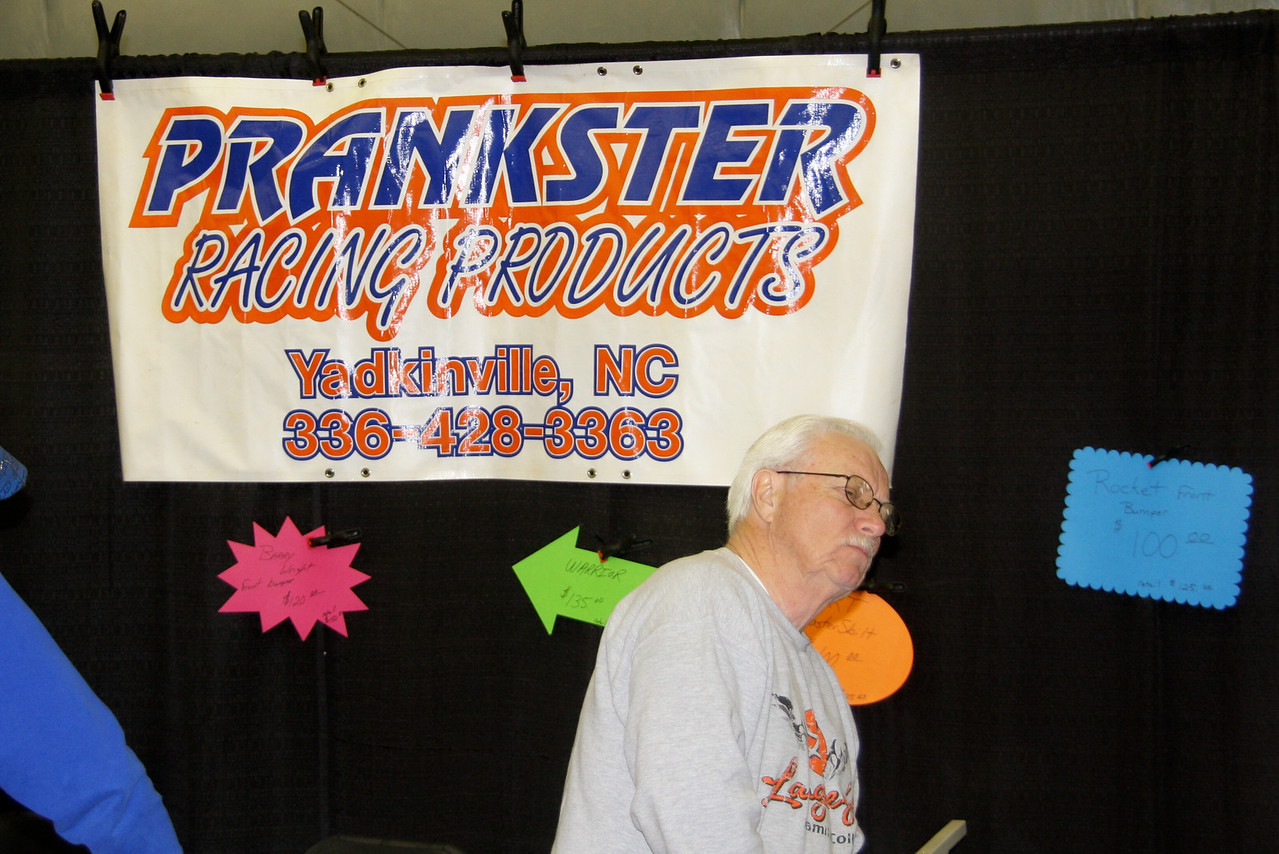 Richard Lynch with Prankster Racing Products in Yadkinville, NC