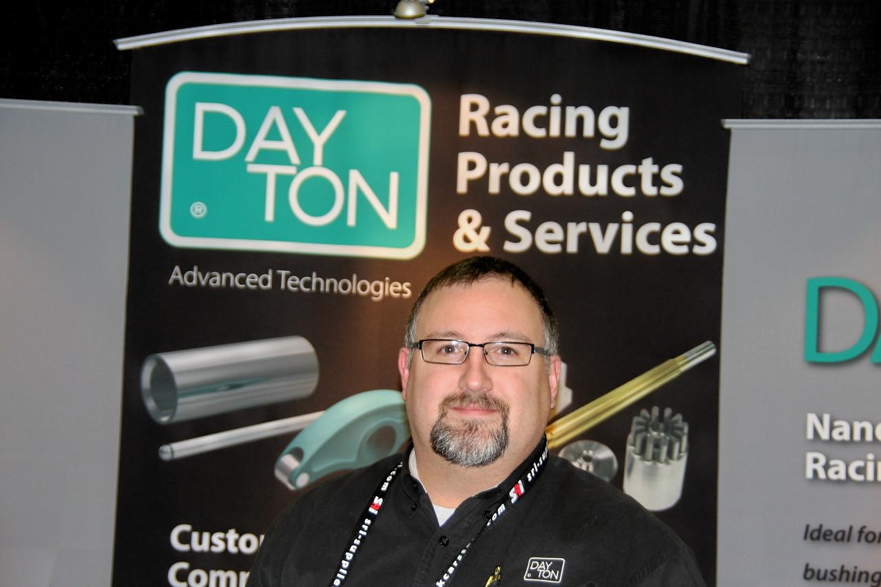 my new buddy with Dayton Racing Products, Jason Grubb