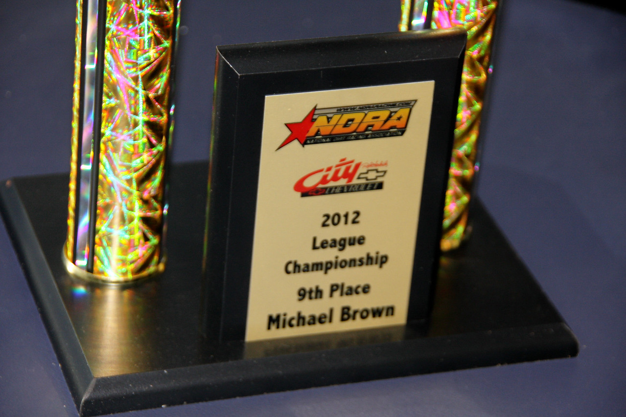 Michael Brown, 9th place