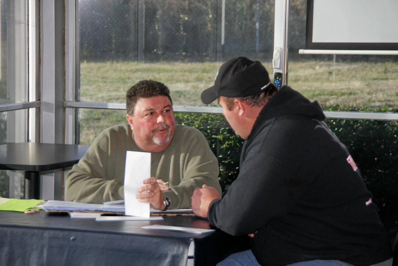 "Larry Lee talks (make that ""listens"") to Dennis Rambo Franklin"