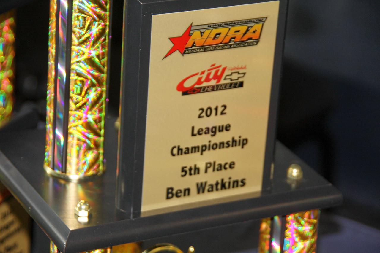 Ben Watkins, 5th place