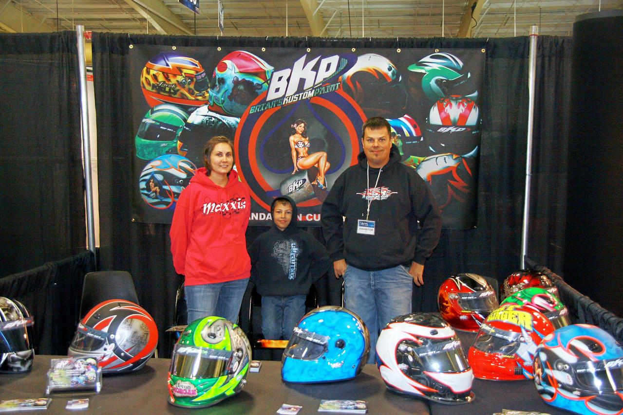 BKP helmet designs