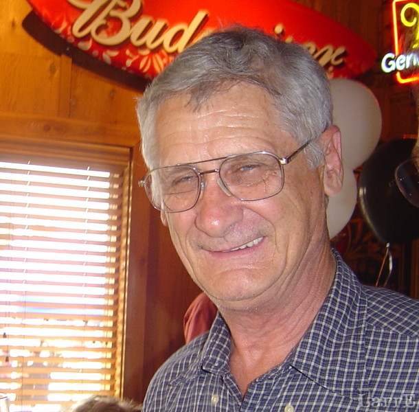 Clyde Norwood, owner operator of Precision Engine Service... race car builder for over 40 years