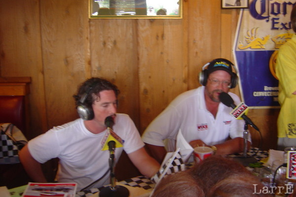 Britt Pope and Curtis Aldridge had a two hour radio show on WIXE
