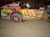 Steve Arpin ran the wheels of the car to win the feature