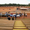 A movie was being filmed at I-77 Speedway on Oct 5 - 6