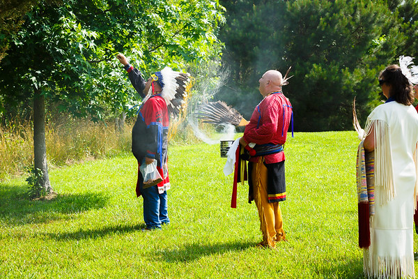 #2 tribal blessing rackliffe house,  june 2015