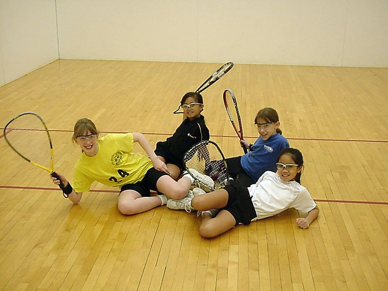 2004 States - Da Girls - Kicking back on the court
