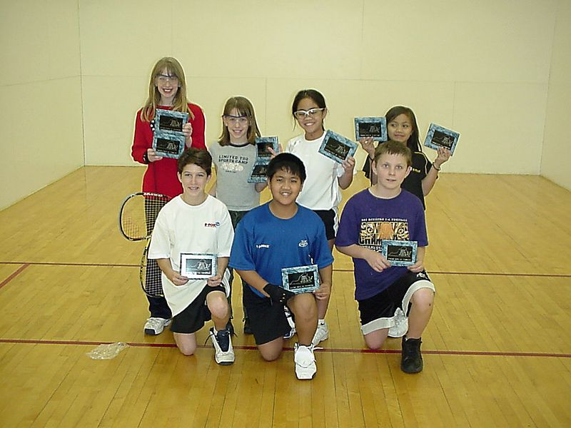 2004 States - Kids group -The Maginificent 7 with plaques