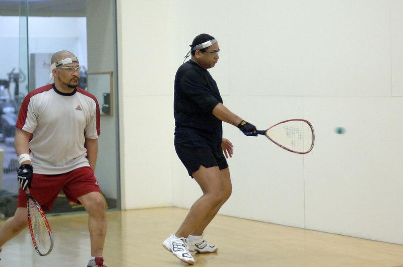 Racquetball tournament held May 6 and 7 at Crystal Gateway Sport and Health Club, Arlington, VA