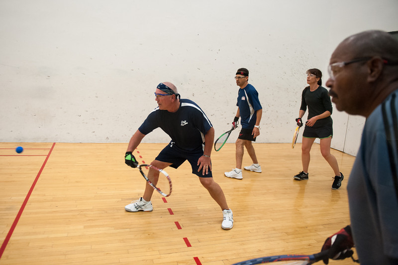 Doubles - Womens and Mens BC Doubles  Freeman / Smalley VS Durso / Torres