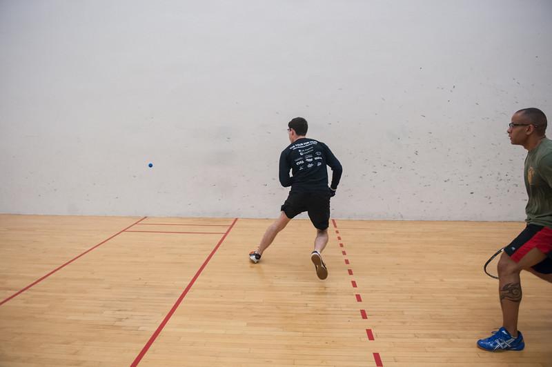Men's Singles A  Tony Smith VS Andrew Fenlon