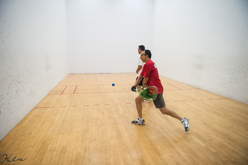 Men's Singles - Open  Greg Giordano VS Rich Benderoth