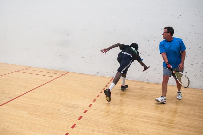 Men's Singles - Open  Troy Warigon VS Jeff Wagner