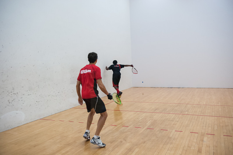 Men's Singles Open  Troy Warigon VS Greg Giordano