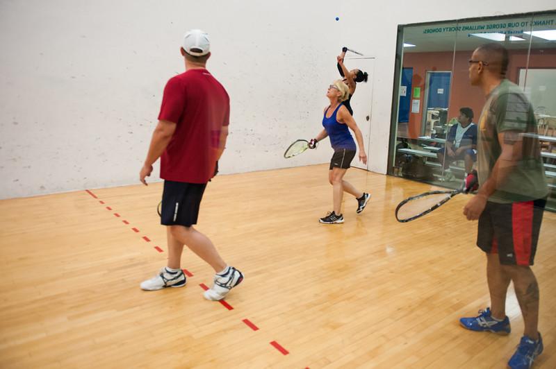 Mixed Doubles - Mixed EABC  Barbara Durso / Roddy Hogg VS  Arrisa Hanson / Tony Smith