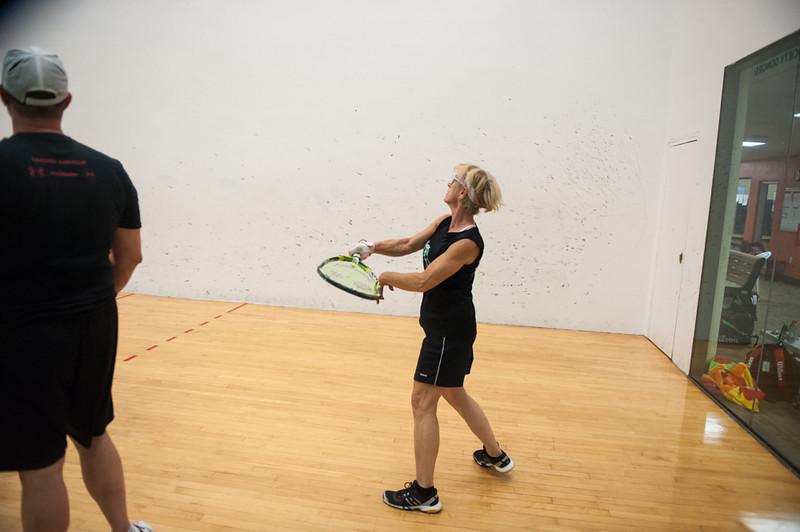 Mixed Doubles - Mixed EABC  Barbara Durso / Roddy Hogg VS  Michael Schiller / Jodi Weidler
