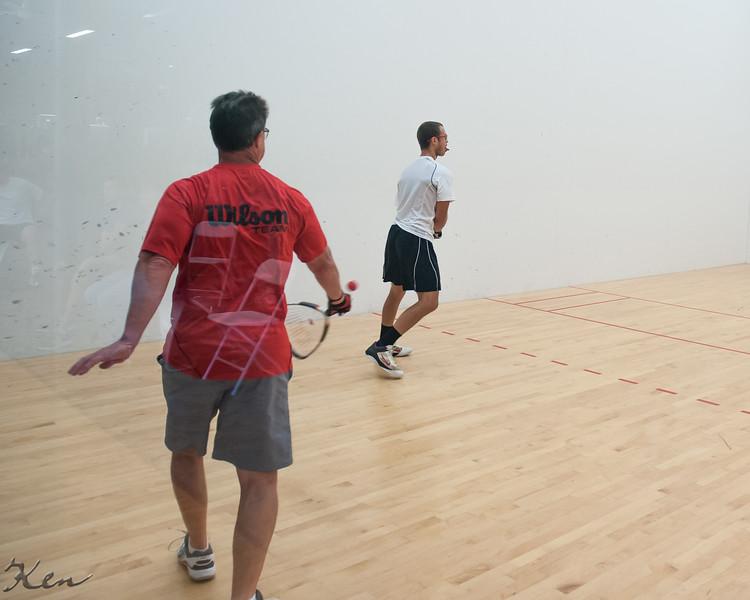 Men's Singles Open Nicholas Czatt W over Jeff Wagner