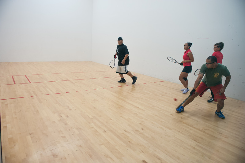 Mixed Doubles - Open/A Tyron Brice/Amie Brewer W over Tony Smith/Arrisa Hanson