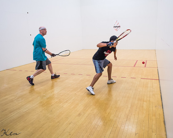 Men's Singles: Open/Elite  Juan Paplo Aguilar VS Jamie Sparks
