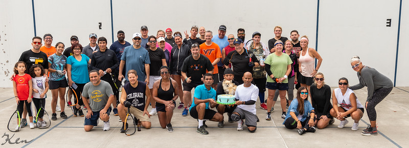 2020-10-24 Mid-Atlantic King & Queen of Stratton Woods Outdoor Racquetball Shootout