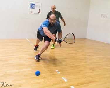 Seniors 35+ Mike Mesecke (GER) over Paul Dingwitz (USA)