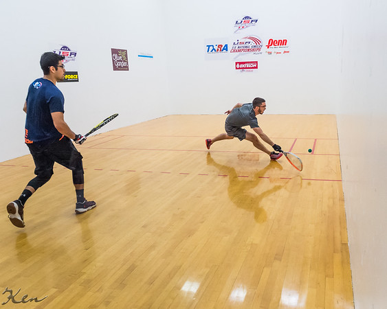 Men's Singles US team Qualifying Semis Marco Rojas over David Horn