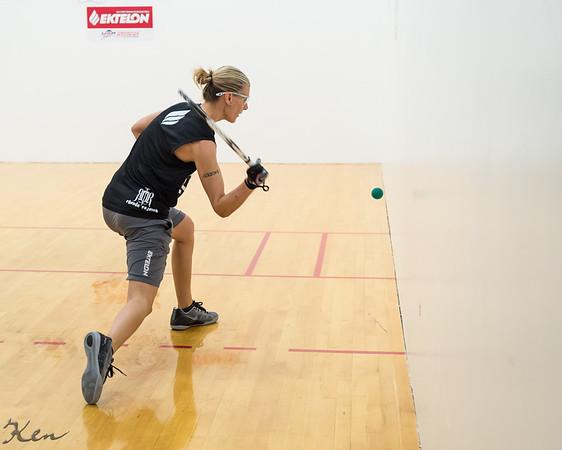 Women's Singles US team Qualifying Quarters Rhonda Rajsich over Jennifer Dering