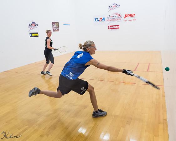 Women's Singles US team Qualifying Semis Rhonda Rajsich over T. J. Baumbaugh