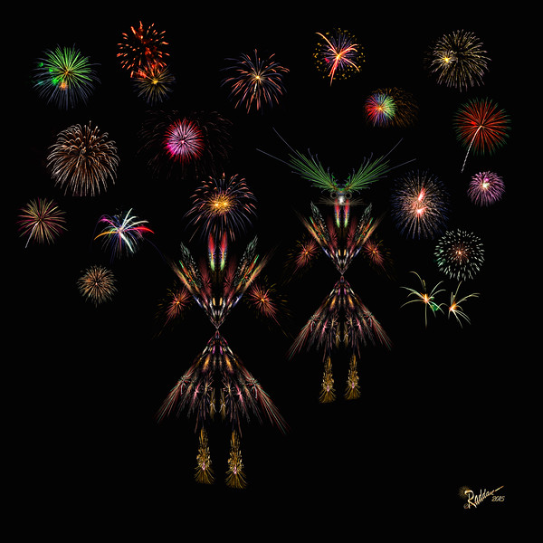 Let the dance begin  with fireworks