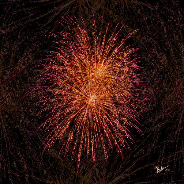 Inspiration - Playing with Fireworks