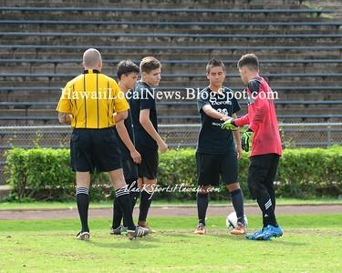 Radford Rams vs MoHS Varsity Boys Soccer  2015