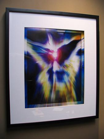 Wings of Desire, framed. Radiant Beings by Brian Shepp