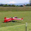 After the skills fun events, Open Flying resumed.  Bob brought his Sukhoi 60