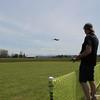 Bob F.  flies his Sukhoi